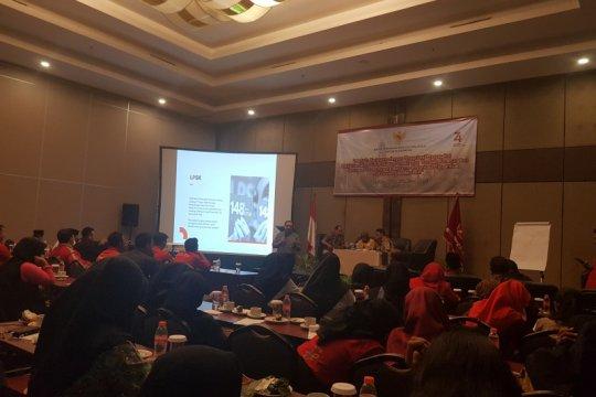 LPSK dibentuk dari nilai-nilai Pancasila
