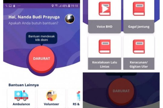 KREKI-119 aplikasi daring untuk pertolongan kegawatdaruratan
