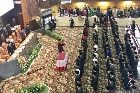 120 anggota DPRD Jatim 2019-2024 dilantik