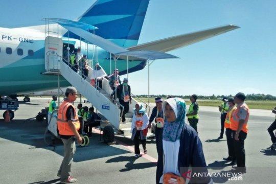 Aman dan lancar, jamaah haji asal Papua tiba di Bandara Mopah Merauke