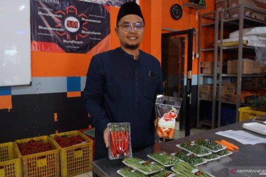 Pesantren Al-Ittifaq sediakan layanan pesan sayuran secara daring