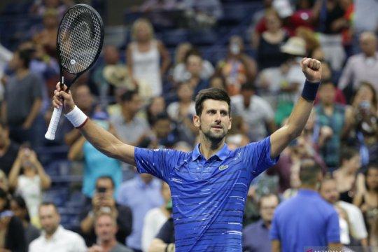 Tenis AS Terbuka: Djokovic melaju ke babak keempat