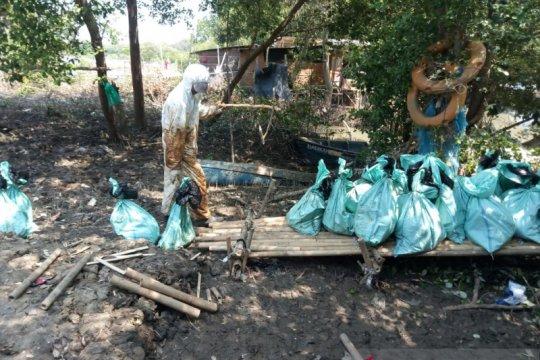 Nelayan Bekasi terdampak tumpahan minyak lebih 2.000 orang