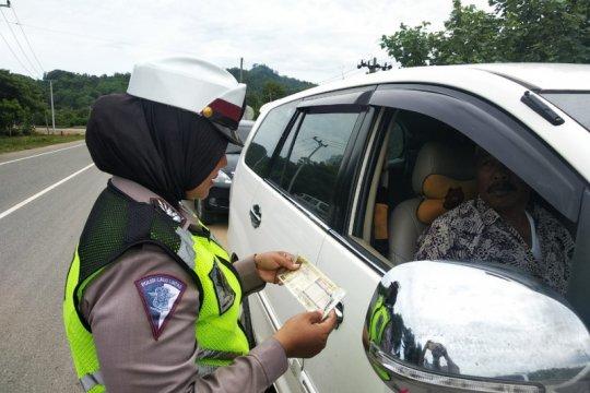 7.446 kendaraan ditilang pada hari ketiga Operasi Patuh Jaya 2019