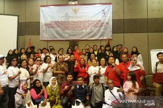 Ikrar setia Pancasila menggema di Kota Bekasi