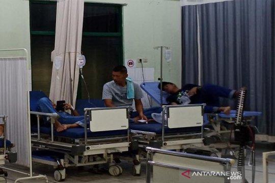 Karyawan keracunan makanan dirawat di RSUD Tamiang Layang