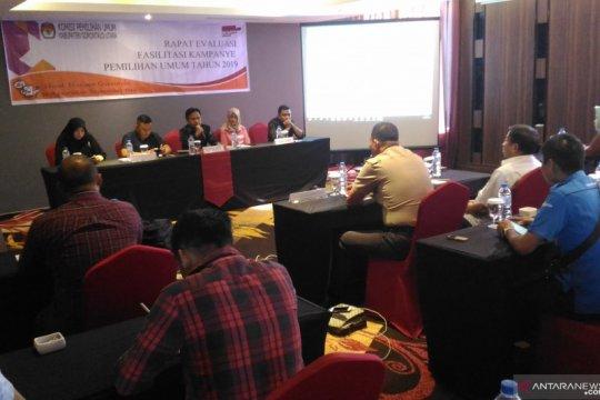 KPU Gorontalo Utara mengevaluasi fasilitasi kampanye Pemilu 2019