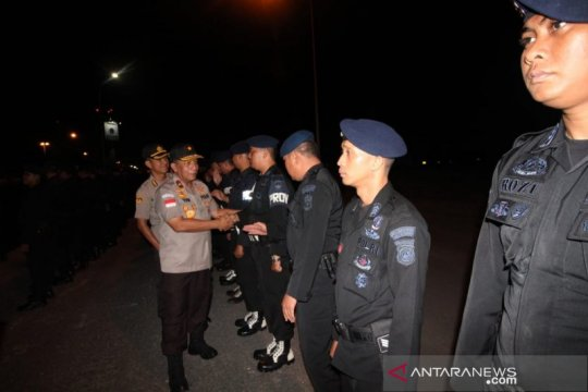 Papua Terkini - 252 personel Brimob Polda Kepri BKO ke Papua