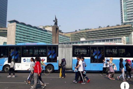 BPTJ-Kemenkes gelar kampanye hijau di CFD Jakarta