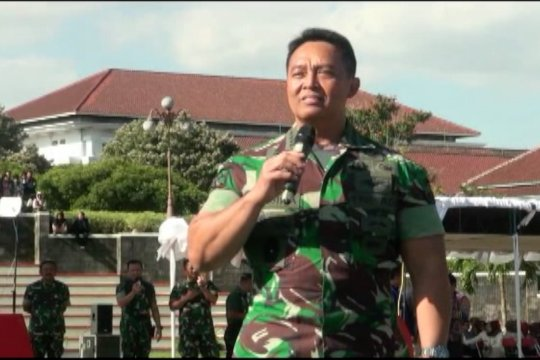 KSAD: Seluruh taruna TNI lakukan pemeriksaan saintifik