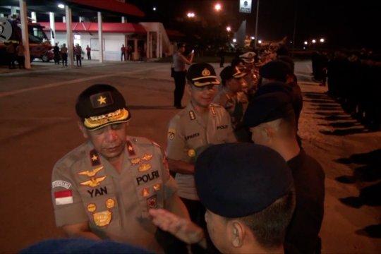 252 personel Brimob Polda Kepri BKO Papua