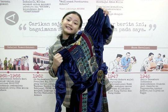 Hanna Khadijjah sang desainer cilik berbakat