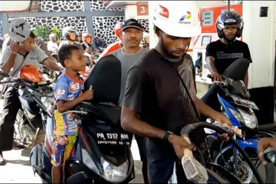 Papua Terkini – 8 SPBU sudah beroperasi normal