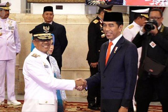 Jokowi lantik Wakil Gubernur Sulawesi Tengah