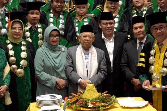 Mar'ruf Amin tekankan nilai kebangsaan dalam konflik Papua