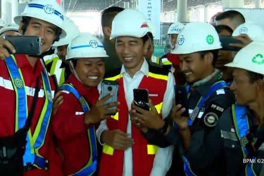 Presiden tinjau fasilitas Bandara Internasional Yogyakarta
