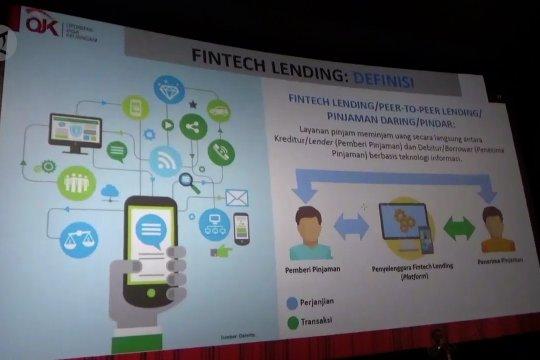 Marak pinjaman online, OJK sosialiasikan tips aman