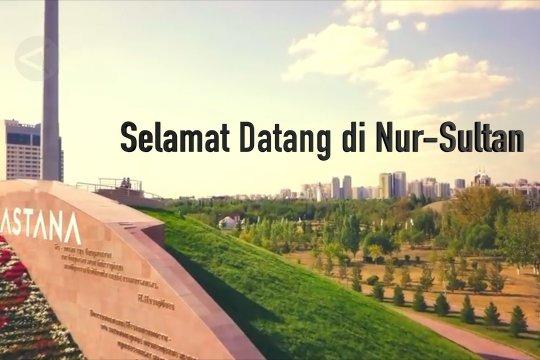 Melihat dari udara kota rujukan Indonesia pindahkan ibu kota