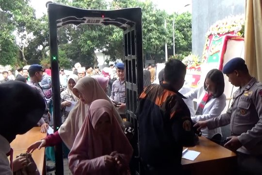 Polisi jaga ketat pengambilan sumpah anggota DPRD Pandeglang