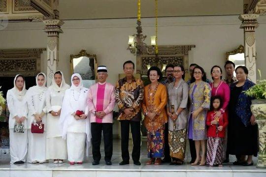 Raja Malaysia bertandang ke Kraton Yogyakarta