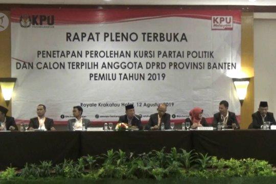 Empat Parpol tak peroleh kursi DPRD Banten