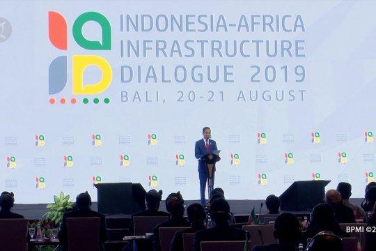Jokowi ke negara-negara Afrika: Indonesia teman terpercaya