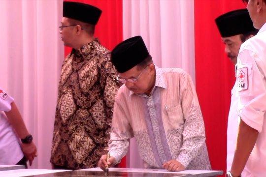 Jusuf Kalla resmikan sekolah dan masjid ramah gempa