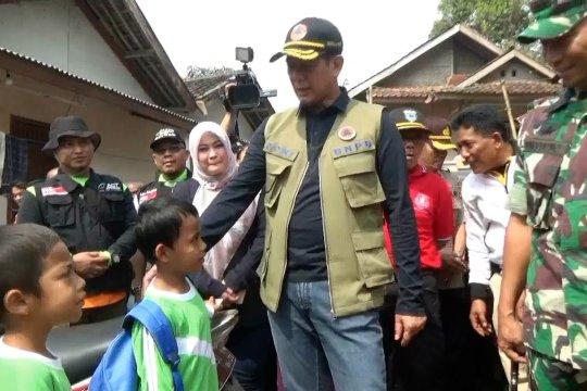Kepala BNPB tinjau kerusakan di kecamatan Mandalawangi, Pandeglang