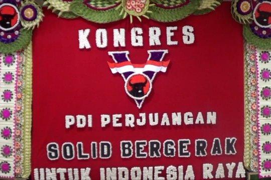 Kongres PDIP akan tetapkan Megawati ketua umum