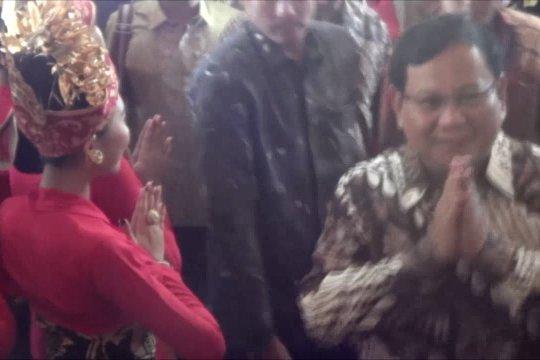 Prabowo hadiri Kongres PDI Perjuangan di Bali