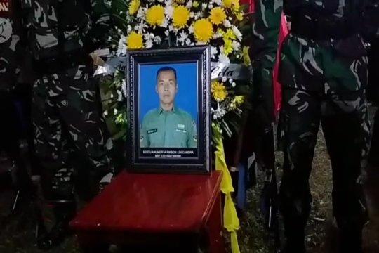 Sertu Ricson dimakamkan di TMP Prabumulih