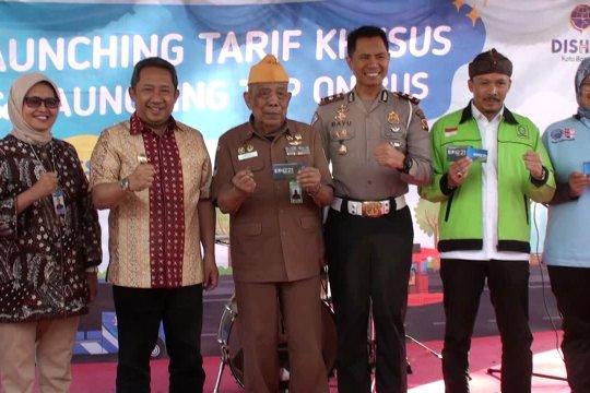 Dishub Kota Bandung berlakukan tarif khusus TMB Rp1 untuk veteran dan buruh