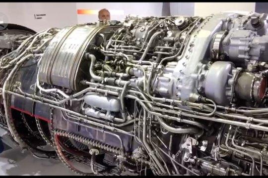 Mesin Saturn AL-41F-1S hadir di MAKS 2019 di Moskow
