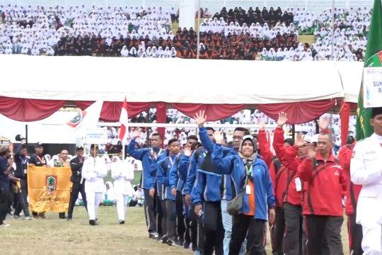 Ratusan pelajar dari 34 provinsi ikuti Olimpiade Olahraga Siswa Nasional