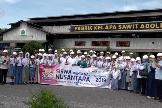 Siswa Sumut diajak memahami industri di PTPN IV dan PT KIM