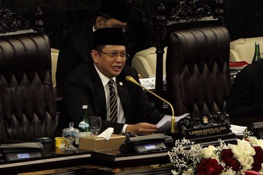 Ketua DPR akhiri sidang tahunan dengan pantun rebutan kursi menteri