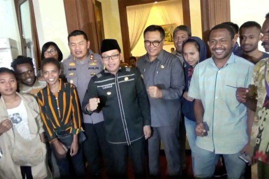 Pemulangan mahasiswa Papua dibantah Wakil Wali Kota Malang