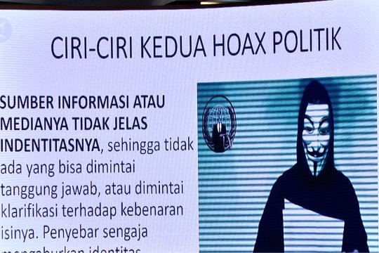 Pengamat: Hoax bagian dari permainan politik