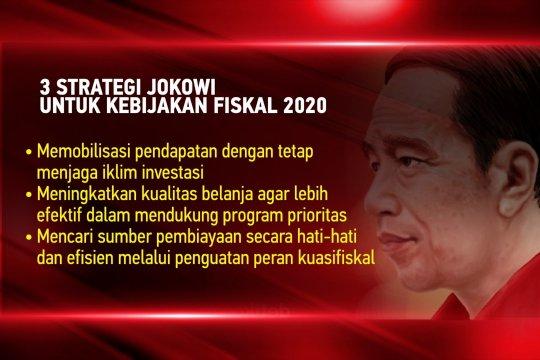 Tiga strategi Jokowi untuk kebijakan fiskal 2020