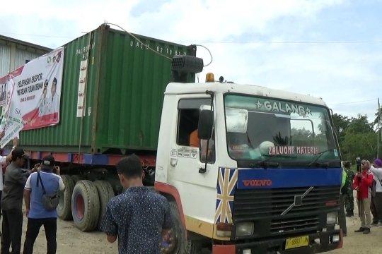 Banggai ekspor perdana tepung kelapa ke Jerman