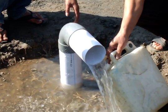 Sumber air muncul tiba-tiba di tengah kekeringan