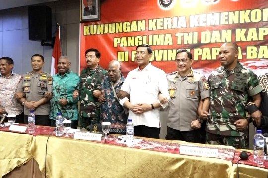 Wiranto ajak musyawarah mufakat pada masyarakat Papua