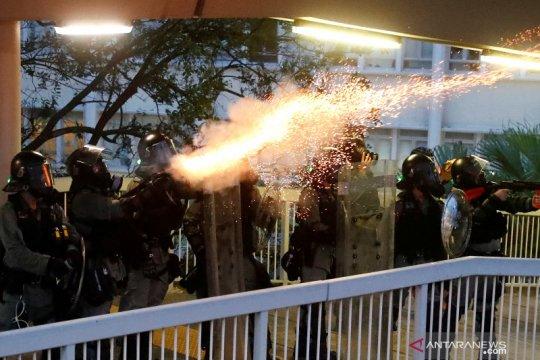 Demonstrasi di Hong Kong terus berlanjut