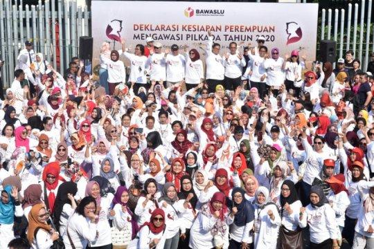 452 srikandi pengawas pemilu deklarasikan kesiapan awasi Pilkada 2020