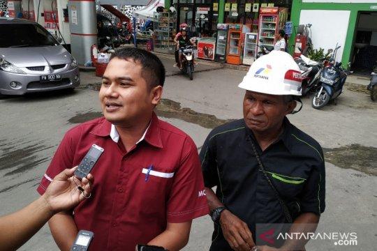 Penyaluran BBM di Kota dan Kabupaten Jayapura berangsur normal kembali