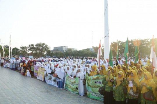 Pawai ta'aruf Tahun Baru Islam diikuti belasan ribu warga Baturaja