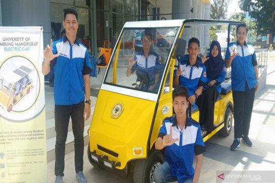 ULM gunakan mobil listrik untuk operasional kampus
