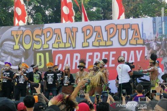 Warga Papua di Jakarta gelar musik Yospan Papua jalin persatuan