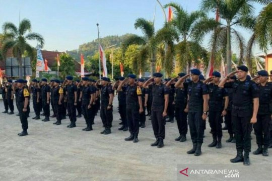 Papua Terkini - Polda Sulbar kirim personel Brimob ke Papua