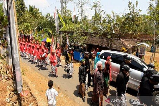 Warga Pengkol Gunung Kidul gelar kirab budaya sambut tahun hijriah
